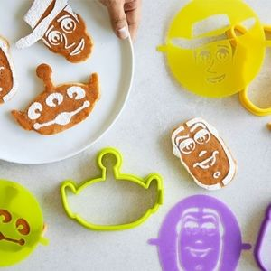Toy Story pancake molds and stencils